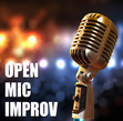 Tickets for Open Mic Improv Night