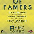 Tickets for AMC HALL OF FAMERS: Blight, Finnen, Warner with guests The Beggars